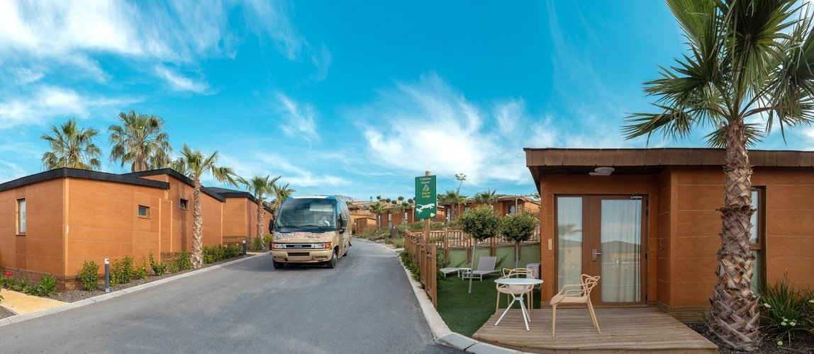 Shuttle service to the lodges magic natura animal, waterpark resort benidorm