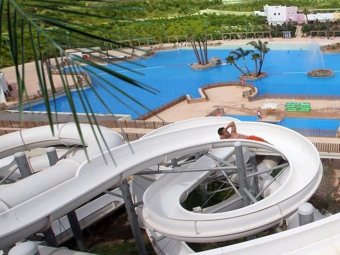Slide magic natura animal, waterpark resort benidorm