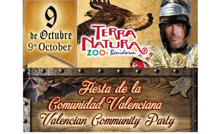 Dia de la Comunidad Valenciana<br>(9 de Octubre) Magic Natura Animal, Waterpark Resort Benidorm
