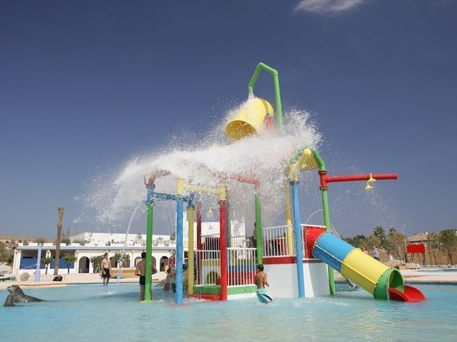 Swimming pool magic natura animal, waterpark resort benidorm