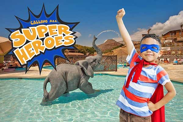 1st kid 100% off magic natura animal, waterpark resort benidorm