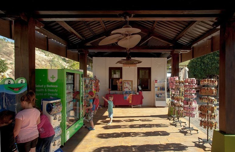 Shop magic natura animal, waterpark resort benidorm