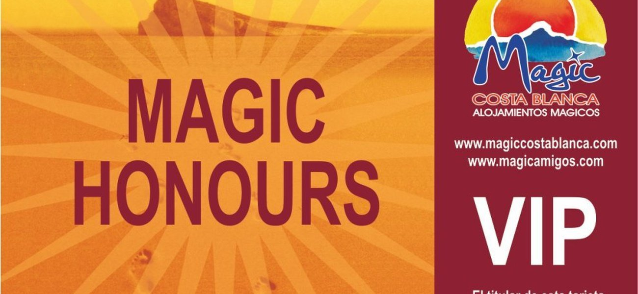 VIP Magic Honors is more special than ever !!! Magic Natura Animal, Waterpark Resort Benidorm